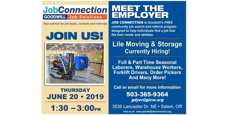 Hiring Event - Salem - 6/20/19 tickets