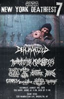 NY Deathfest 7: Dehumanized, Regurgitation, Afterbirth, Bound By The Grave, Holy Cost, Logistic Slaughter, Buzzherd, Gross, Inoculation, Gutted Christ, Flesh Tomb