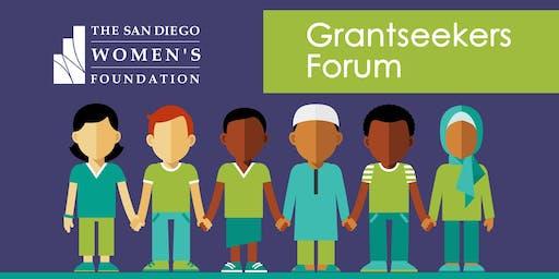 SDWF Grantseekers Forum