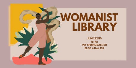 Summer Solstice Womanist Library tickets