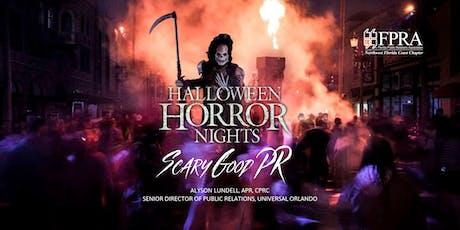 July Luncheon: Halloween Horror Nights - Scary Good PR tickets