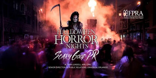 July Luncheon: Halloween Horror Nights - Scary Good PR