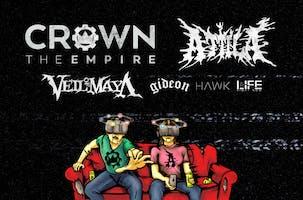 CROWN THE EMPIRE – Rage Fest with ATTILA