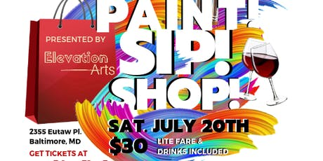 Paint, Sip & Shop presented by Elevation Arts tickets