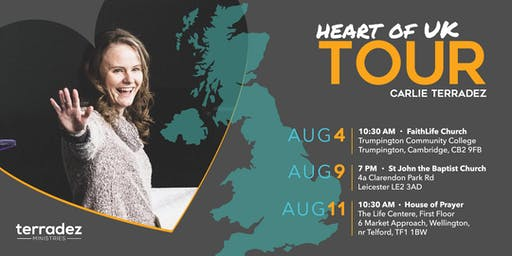 Heart of UK Tour with Carlie Terradez