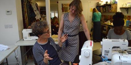 Beginners Sewing Weekender tickets