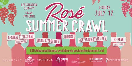 Rosé Summer Crawl 2019 tickets