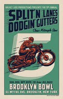 The 5th Annual Split'n Lanes Dodgin' Gutters Classic Motorcycle Show