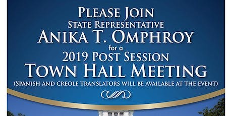 2019 Post Session Town Hall Meeting tickets