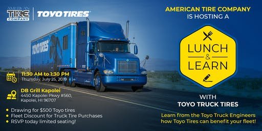 American Tire Lunch & Learn with Toyo  Truck Tires