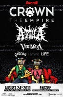 Crown The Empire - Rage Fest  w/Attila