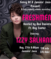 "Live Album Recording ""Freshmen"" Starring Izzy Salhani feat. Ray Easter"