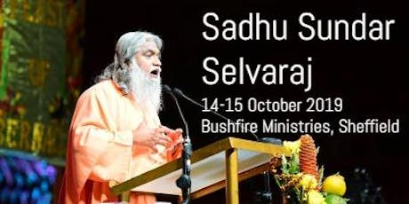 Prepare UK! Sadhu Sundar Selvaraj tickets