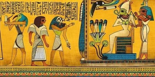 """Get Arty """"Land of the Pharaohs Week"""" Secondary age 11.30am"""