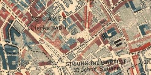 Clerkenwell. The Charles Booth Poverty Maps.