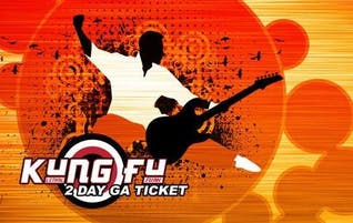 Kung Fu Plays Kung Fu & Kung Fu Plays The Who (2 Day Discounted General Admission Ticket)