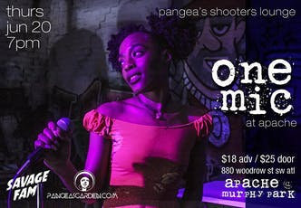 ONE MIC - Pangea's Shooters Lounge tickets
