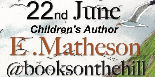 Signing with Picture book author E. Matheson