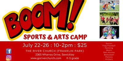 BOOM! (SPORTS & ARTS CAMP)