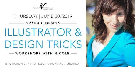 Graphic Design Workshops: Illustrator / Tips +Tricks tickets