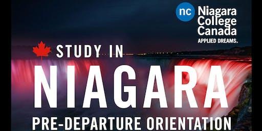 Niagara College Pre-Departure Seminar: Toronto