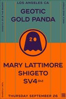 Ghostly 20 Year Anniversary with Gold Panda & More