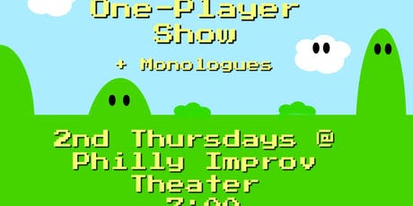 One Player Show Featuring Patric Ciervo + Monologues tickets