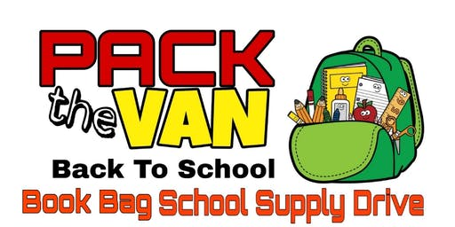 Pack the Van- Back to School Supply Drive