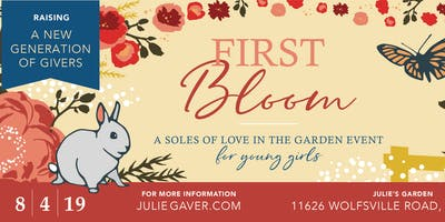 """""""First Bloom""""-- A Charity Event for Girls"""