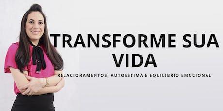 Palestra Gratuíta Transformação Radical com Lú Freire ingressos