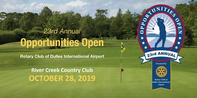 23rd Annual Opportunities Open