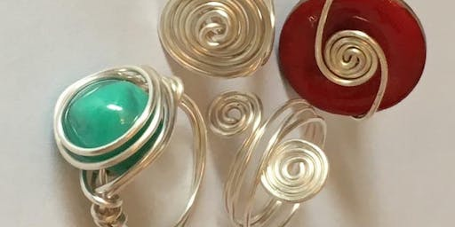 Kids Home Ed Wire Jewellery Workshop - Ring Making