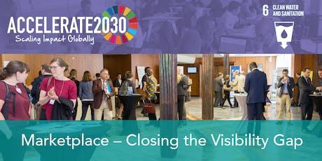 Accelerate2030 SDG6 - Marketplace forum - Lagos tickets
