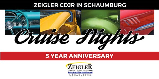 October Classic Car Cruise Night hosted by Zeigler—Chrysler, Dodge, Jeep & Ram