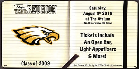 Harry D. Jacobs Class of 2009: Ten Year Reunion tickets