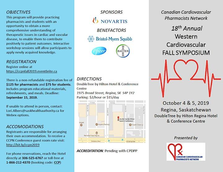 18th Annual Western Cardiovascular Fall Symposium image