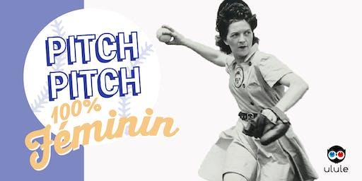 Soirée Pitch Pitch Night Ulule 100% Féminin à Montréal!