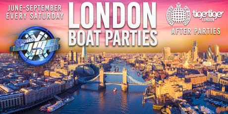 London House Boat Party & FREE After Party tickets