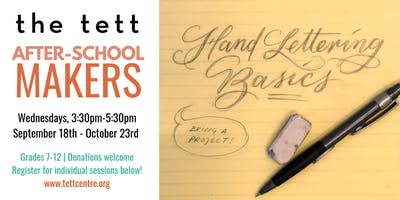 After-School Makers: Hand Lettering with Floriana Ehninger-Cuervo
