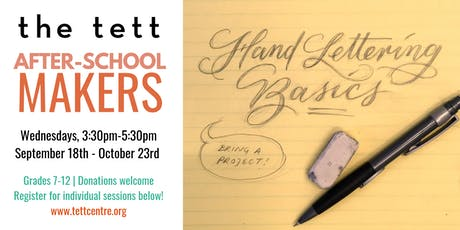 After-School Makers: Hand Lettering with Floriana Ehninger-Cuervo tickets