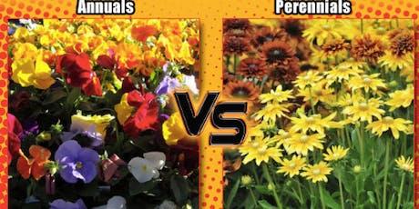 Master Gardner Talk: Annual vs Perennial tickets