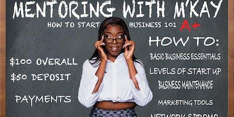 How to start a business 101 class tickets