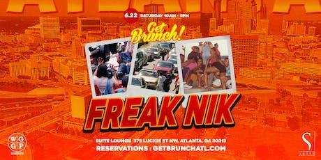 Get Brunch! : FREAKNIK EDITION! tickets