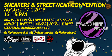 Planet Hype: Sneakers & Streetwear Convention tickets