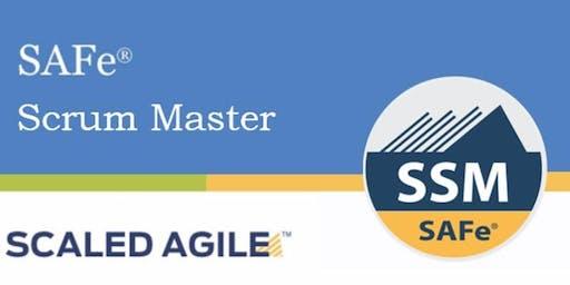 SAFe Scrum Master SSM (4.6) with Certification Weekend (Atlanta, GA)