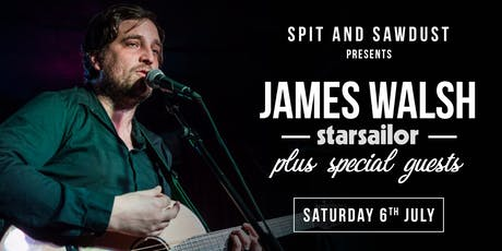 REJOICE: James Walsh (Starsailor) plus guests tickets