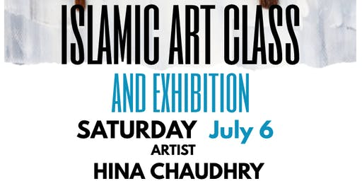 Islamic Art Class with Artist Hina Chaudhry, River Oaks