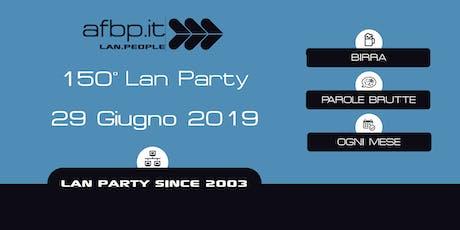 A.F.B.P. 150ma Lan - Giugno 2019 biglietti