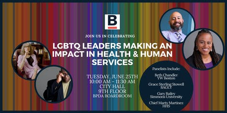 Celebrating LGBTQ Leaders Making An Impact in Health & Human Services tickets