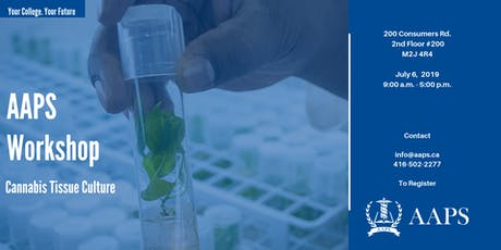 Cannabis Tissue Culture Workshop tickets